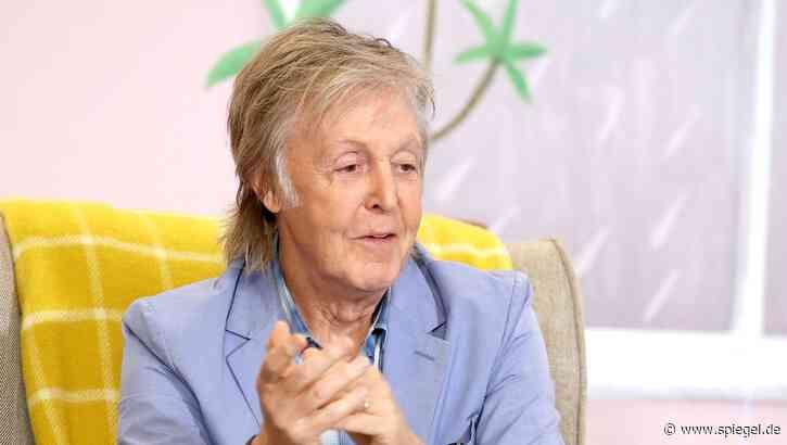 """Paul McCartney: Angst vor """"Carpool Karaoke"""" in Liverpool - DER SPIEGEL"""