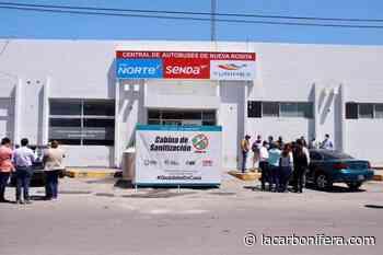 Encabeza Julio Long instalación de tercera cabina de sanitización en Nueva Rosita - LaCarbonifera.com