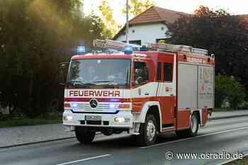 Brände in Quakenbrück und Bad Rothenfelde - osradio 104,8