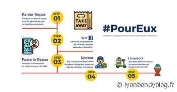 #Poureux, le hashtag des livreurs solidaires - Lyon Bondy Blog