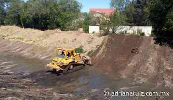 #Cuauhtemoc | Limpia Municipio arroyos de la ciudad ante temporada de lluvia - Adriana Ruiz