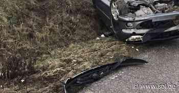 Autofahrer überschlägt sich zwischen Schiffweiler und Ottweiler - Mann (23) schwer verletzt - sol.de