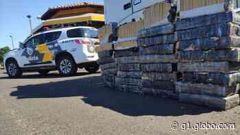 Polícia Rodoviária apreende carga de maconha dentro de caminhão em Ourinhos - G1