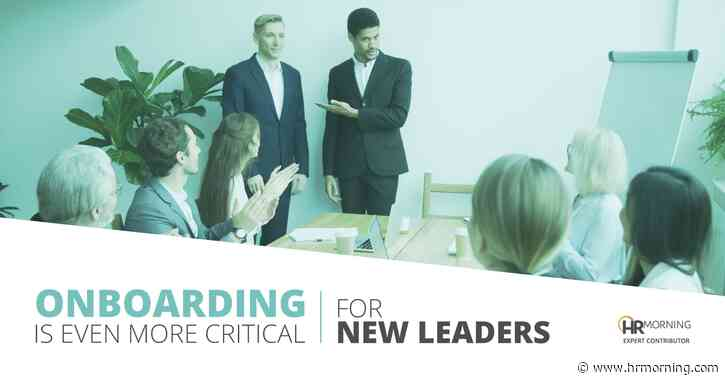 Start new leaders at full speed on Day One