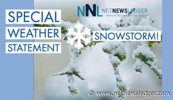 WEATHER - Snowfall Warning for Nipigon, Marathon, Schreiber - Net Newsledger