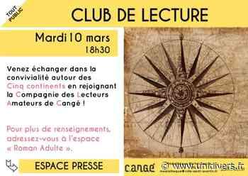 Club de lecture Médiathèque de Cangé 10 mars 2020 - Unidivers