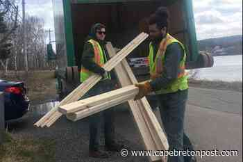 Lumber delivery in Westmount - Cape Breton Post