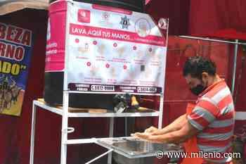 Colocan lavamanos en zonas estratégicas de Ixtapaluca - Milenio