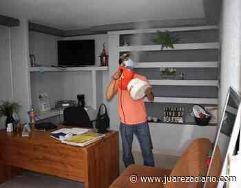 Oficinas de Gobierno Municipal en Nuevo Casas Grandes serán sanitizadas - Juárez a Diario