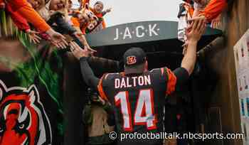 Bengals officially release Andy Dalton