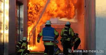 Karlsruhe 0 Brand in Autowerkstatt in Stutensee - keine verletzten Personen - ka-news.de