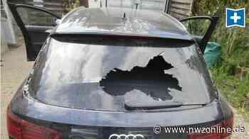 Sachbeschädigung In Rastede: Mutwillig Audi stark beschädigt - Nordwest-Zeitung