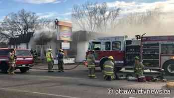 One person hurt in fire at Danny's Steakhouse in Petawawa - CTV News Ottawa