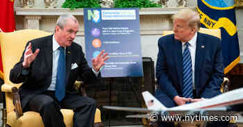 N.J. Governor Thanks Trump for Resources to Fight Coronavirus