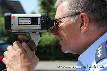 Polizei kassiert in Borgholzhausen 22 Führerscheine - Radio Gütersloh
