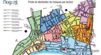 Nogent-sur-Marne, distribution des masques par quartier les 4 et 5 mai - 94 Citoyens
