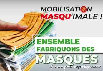 Mobilisation citoyenne pour confectionner des masques à Muret - petiterepublique.com