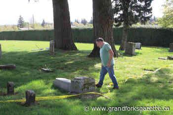100-year-old gravestones vandalized at Surrey Centre Cemetery - Grand Forks Gazette