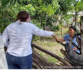 Candidata a diputada entrega mascarillas y desinfectantes en Bohechío - Lideres Políticos