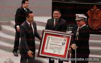 """Medalla """"Adolfo Ruiz Cortines"""", para Almirante José Rafael Ojeda Durán - El Sol de Orizaba"""