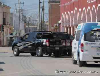 Menos incidentes en Peto durante la contingencia - El Diario de Yucatán
