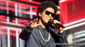 Bruno Mars Is Lowkey Working on New Music and a Disney Movie - Distractify