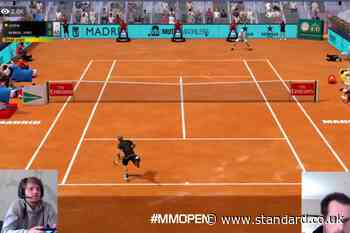 Andy Murray wins Virtual Madrid Open after beating David Goffin in final in dramatic tiebreak - Evening Standard