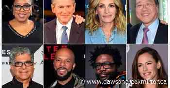 Winfrey, Roberts to appear in global virus relief livestream - Dawson Creek Mirror