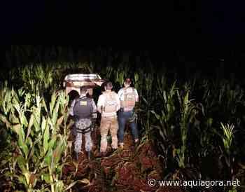 Policiais apreendem três caminhões carregados com cigarros paraguaios em Terra Roxa - Aquiagora.net