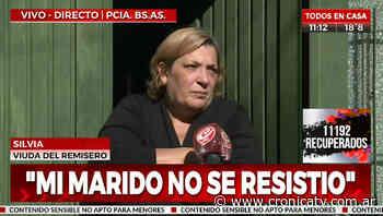 Asesinaron a remisero en Santos Lugares - Crónica TV