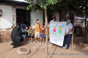 En Hobo se las ingeniaron para celebrar el Día de la Niñez - Diario del Huila