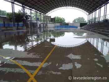 Lluvias causan estragos en institución educativa de Hobo - lavozdelaregion.co