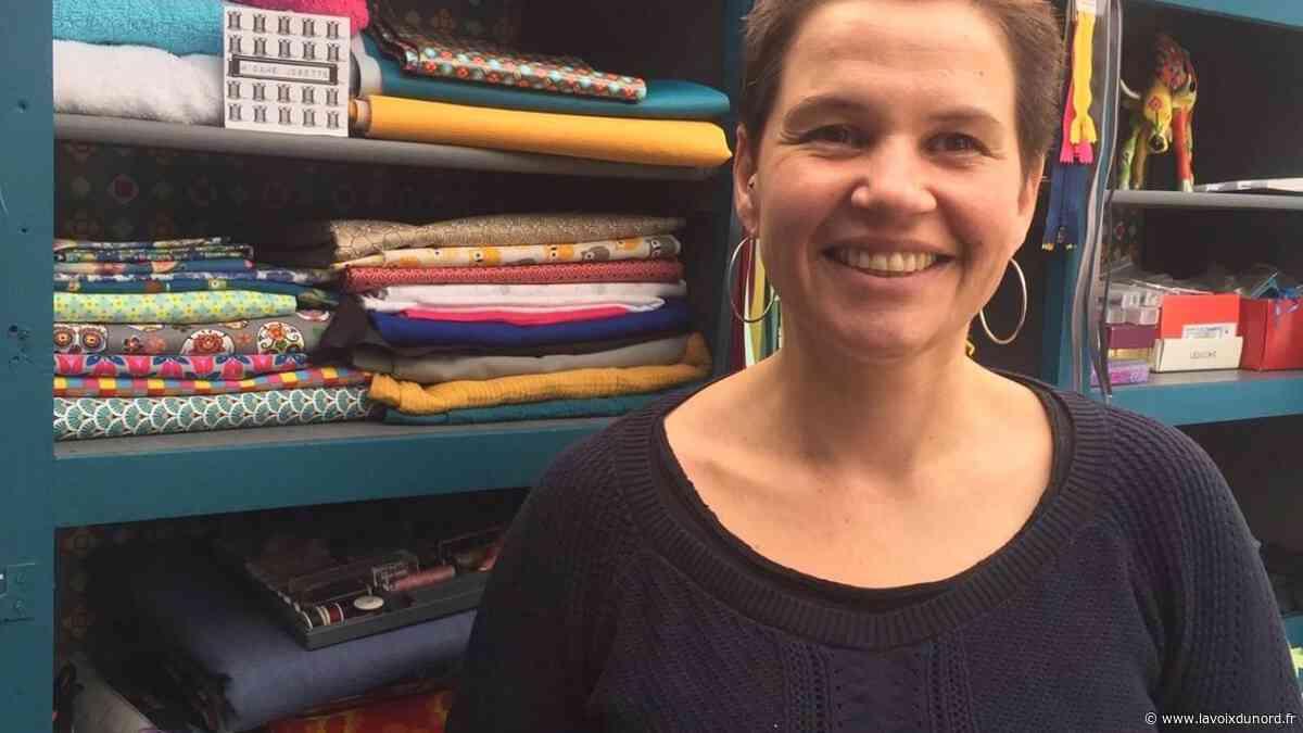 Le Quesnoy : Céline Macoine se lance dans une boutique en ligne de sacs en tissu - La Voix du Nord