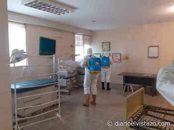 Prevención: Nueva desinfección de espacios en Aragua de Barcelona - Diario El Vistazo