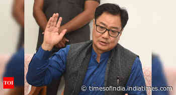 Our ultimate goal is to have kabaddi included in Olympics: Kiren Rijiju - Times of India