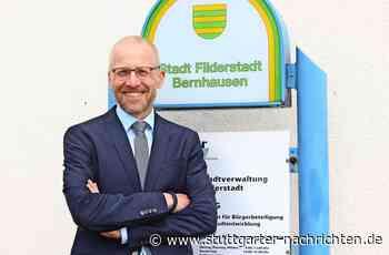 Filderstadt - Vom Azubi bei der Stadt zum Bürgermeister - Stuttgarter Nachrichten
