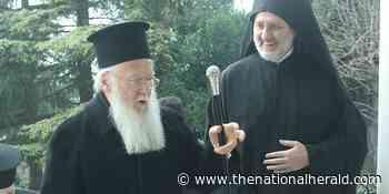 Patriarch Bartholomew Congratulates Archbishop Elpidophoros on Saint George Day - The National Herald