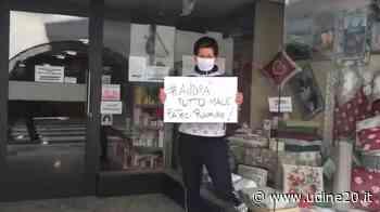Confcommercio: riaprire in sicurezza, si deve. Flashmob a Tolmezzo. VIDEO - Udine20