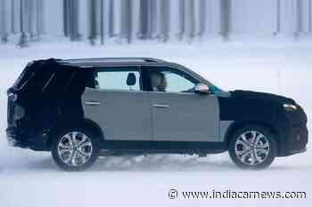 2021 Mahindra Alturas (Rexton G4 Facelift) Spotted Testing - India Car News