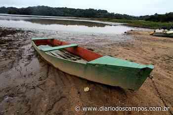 Diário dos Campos | Rio Pitangui está com vazão reduzida em 70% - Diário dos Campos