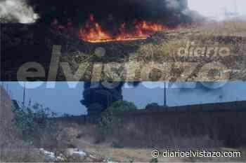 Bomberos de Pdvsa San Tomé apagaron incendio en patio abandonado de Guanipa - Diario El Vistazo