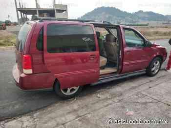 SS recupera en Ocoyoacac vehículo robado - Noticiario Así Sucede