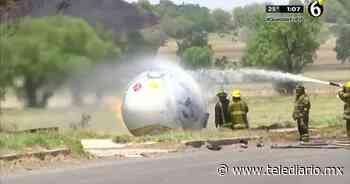 Se incendia pipa de gas en Zumpango, muere conductor - Telediario CDMX