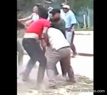 Monumental pelea protagonizó el alcalde de Mogotes, Santanter, para hacer cumplir cuarentena - RCN Radio