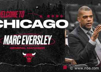 Bulls name Marc Eversley General Manager