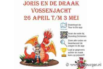 Joris en de Draak Vossenjacht met Scouting Schinnen - De Limburger