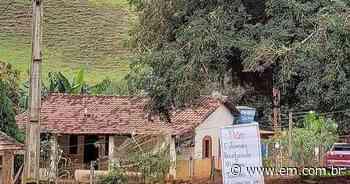 Coronavírus: família usa cartazes para afastar visitas em Lagoa Formosa - Estado de Minas