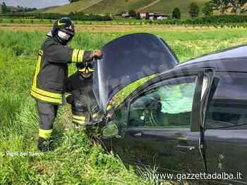 Fuori strada con la propria auto: l'incidente a Borgonuovo di Neive - http://gazzettadalba.it/