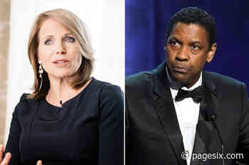 Katie Couric recalls 'uncomfortable' interview with Denzel Washington - Page Six