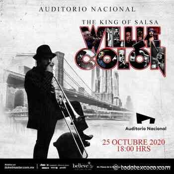 Willie Colon en el Auditorio Nacional - Miguel Hidalgo Ciudad de México - Noticias de Texcoco